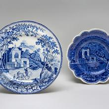 Plates, Musketeer pattern  c. 1810–30s