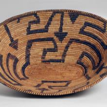 Bowl-shaped basket  20th century