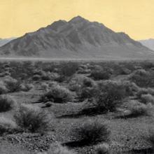 Mountain, Southwest Nevada Desert  2014