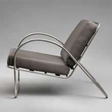 Tubular aluminum chair  c. 1936