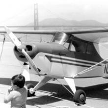 Interstate S-1A on Crissy Field, San Francisco, California 1970s
