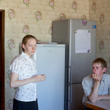 From the series, Brothers and Sisters, Petrovka, Russia 2014