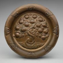 Round platter  c. 1910