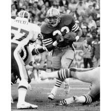 Running back Roger Craig rushes during a 37-31 victory over Washington at Candlestick Park September 10, 1984