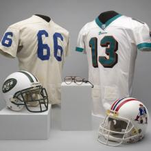 A selection of material representing the AFC East Division of the National Football League