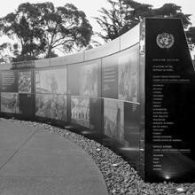 Korean War Memorial, facing north  2017