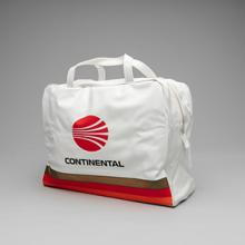 Continental Airlines Hawaii flight bag  1970s
