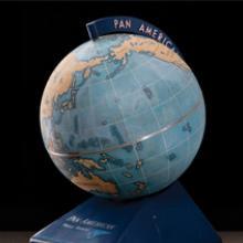 Pan American World Airways floor globe