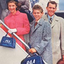 Pan American World Airways advertisement 1960s