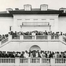 National Convention of Madam C. J. Walker beauticians at Villa Lewaro