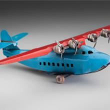 Wyandotte China Clipper toy airplane