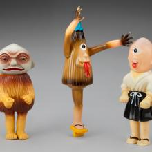 Yōkai monster figures  1968