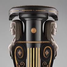 Egyptian Revival pedestal  1870s