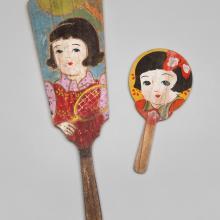 Hagoita paddles