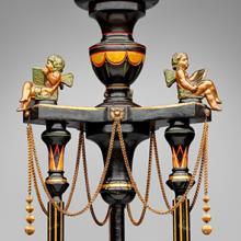 Renaissance Revival pedestal  c. 1865–75