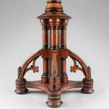 Modern Gothic pedestal  c. 1880–85