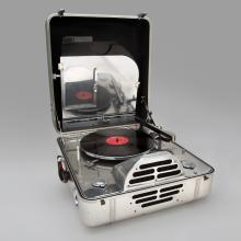 Special Model K portable electric phonograph  1940