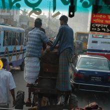 Traffic, Bangladesh  2008