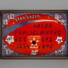 Star-Gazer Mystical Question Board Tray  c. 1944