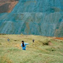 Niños jugando en Champamarca  2013