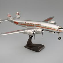 TWA (Trans World Air lines) Lockheed 049 Constellation model aircraft  late