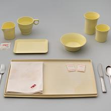 A TWA (Trans World Airlines) meal service set  1950s