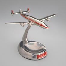Lockheed 1049 Super Constellation model aircraft ashtray early 1950s