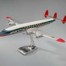 Northwest Orient Airlines Lockheed 1049G Super Constellation model aircraft  c. 1950