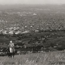 Untitled, from the series Back to the Ranch, above Walnut Creek, Contra Costa County, California